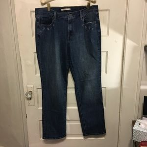 Levi's 505 Straight Size W32 L32 Medium Wash